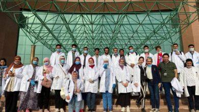 Photo of تدريب طلاب طب الدلتا في المركز الطبي العالمي