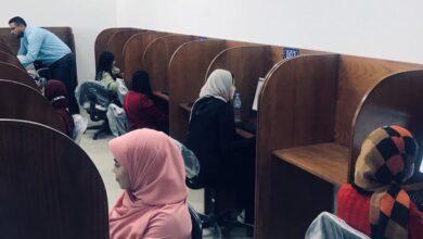 Photo of إجراء أول اختبار تجريبي الكتروني لطلاب طب بيطري بجامعة بنها