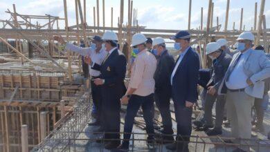 Photo of وزير التعليم العالي يتابع سير العمل في جامعة المنصورة الأهلية الجديدة