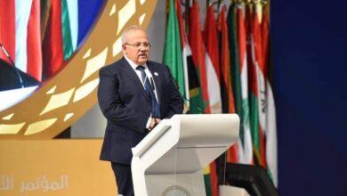 Photo of رئيس جامعة القاهرة يلقي كلمة تأسيسية في افتتاح مؤتمر الاقتصاد الرقمي في دولة الإمارات العربية المتحدة