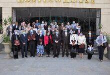 Photo of تسليم عقود المشروعات البحثية الممولة من صندوق البحث العلمي بجامعة حلوان