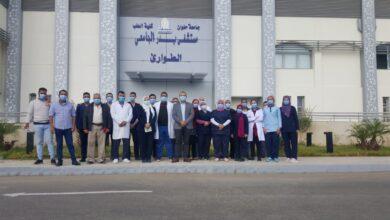 Photo of افتتاح قسم الطوارئ بمستشفى طب جامعة حلوان