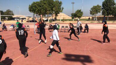 Photo of منتخب فتيات جامعة عين شمس يتأهل لربع نهائي الطائرة بأوليمبياد الأقصر