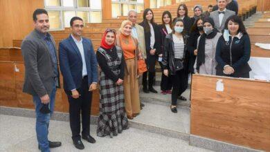 Photo of تحكيم مشروعات تخرج طلاب قسم العلاقات العامة بأعلام جامعة مصر للعلوم والتكنولوجيا