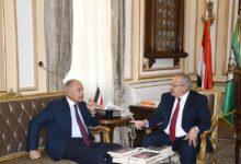 Photo of رئيس جامعة القاهرة يهنئ أحمد أبو الغيط لإختياره أمينًا عاماً للجامعة العربية لدورة جديدة