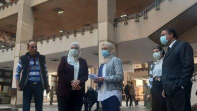 Photo of ألسن عين شمس تواصل إجرائاتها الإحترازية خلال فترات امنتحانات منتصف العام الدراسي