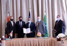 Photo of وزير التعليم العالي يشهد  توقيع اتفاقية تعاون بين جامعتي الجلالة وأريزونا ستيت الأمريكية