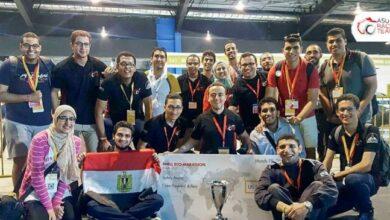 Photo of فريق سباقات جامعة عين شمس الثالث عالميا والأول عربيا وافريقيا بمسابقة فورميولا