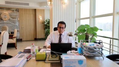 Photo of وزير التعليم العالى يستعرض تقريرًا حول جامعة الملك سلمان الدولية