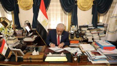 Photo of وزير التربية والتعليم والتعليم الفني يعتمد نتيجة الدبلومات الفنية للعام الدراسي 2020