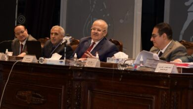 Photo of مجلس جامعة القاهرة برئاسة د. الخشت يستعرض موقف المشروعات الكبرى للجامعة