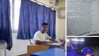 Photo of التعليم تكشف حقيقة  الفيديو المنتشر على السوشيال ميديا للايحاء بانفلات اللجان: